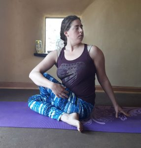 ardhamatsyendrasana to rejuvenate the spine