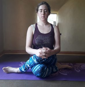 Vira asana is useful when doing meditation retreat