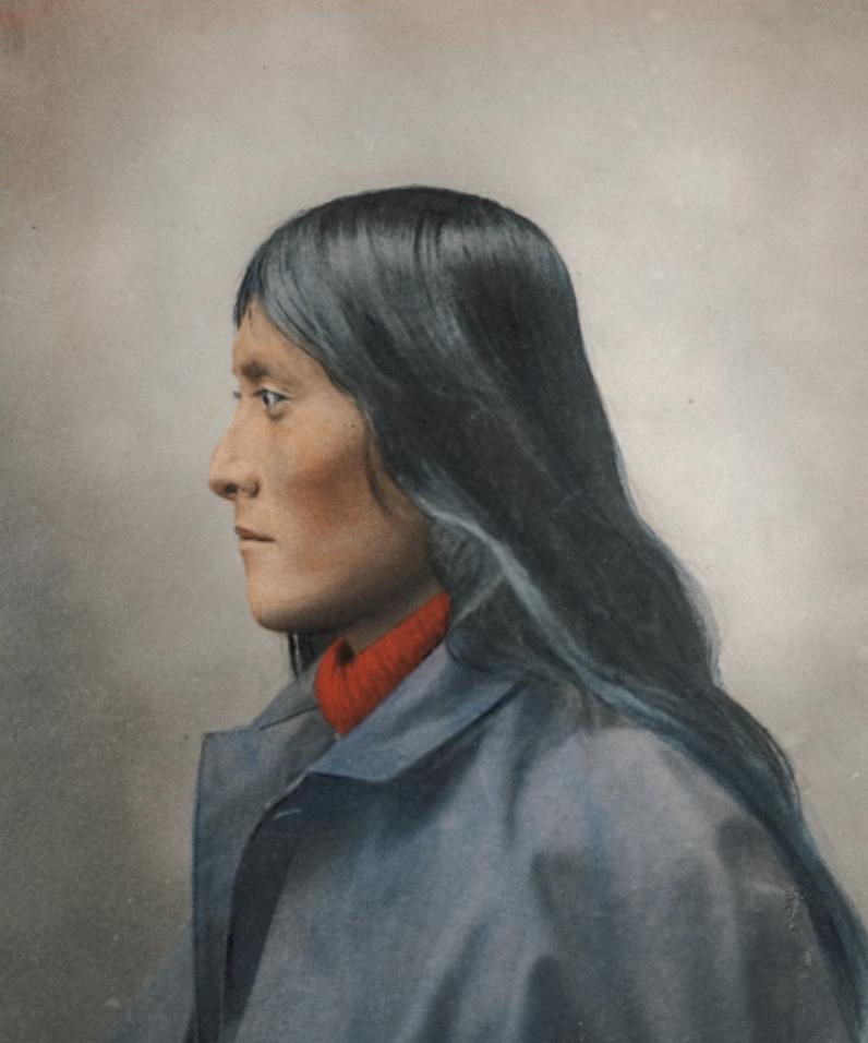 Apache Native American Individual